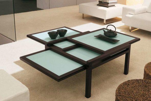 преимущество данной функциональной мебели заключается в компактности