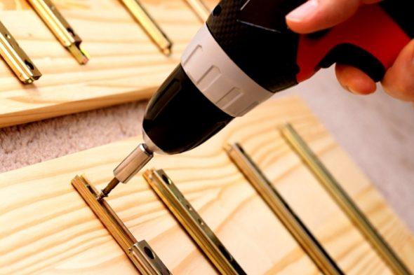 собрать корпусную мебель своими руками
