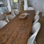 деревянный стол состаренный