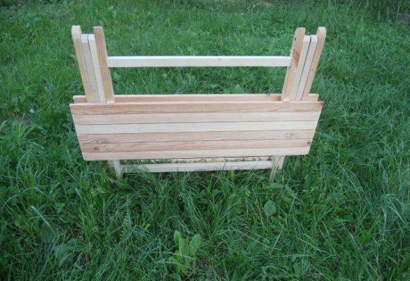 стол для дачи раскладной