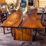 деревянный стол натуральное дерево