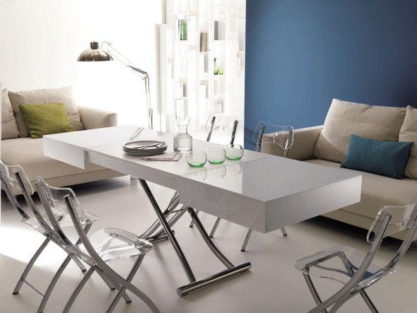 стол-трансформер в гостиную