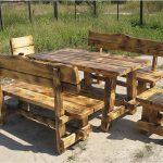 столы из дерева своими руками для дачи