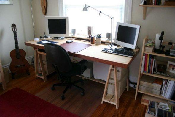 своими руками сделать письменный стол
