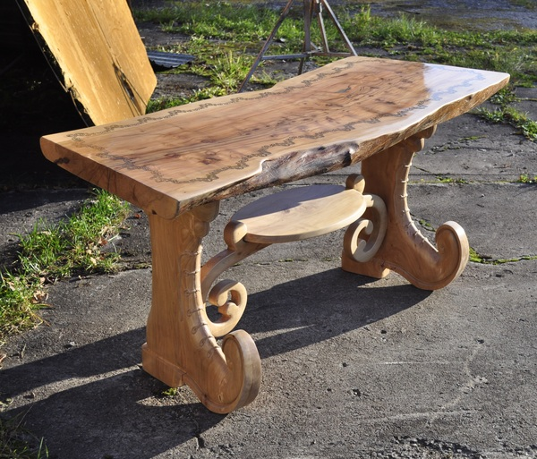 Стол из массива дерева своими руками фото 51
