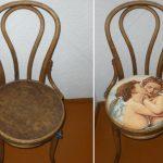 Декор стульев — декупаж и реставрация