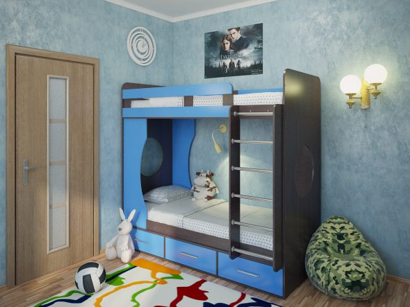 Кровать Лицей