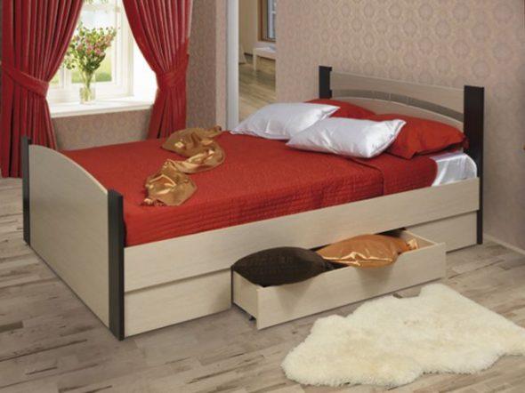Кровать (Олимп) 1200-1600