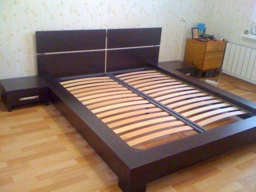 Кровать из ДСП-дизайн