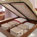 Кровать с ящиками для хранения-идея дизайна