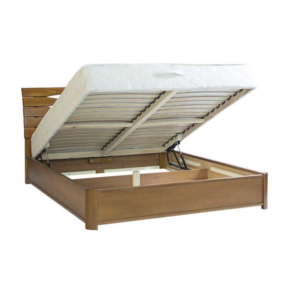 Кровать с подъемным механизмом станет универсальным решением