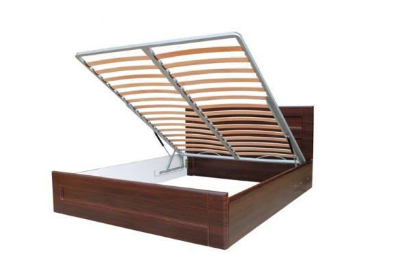 Кровать с подъёмным механизмом (газлифт)