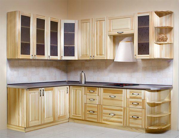 Кухонный гарнитур из мебельных щитов своими руками 47