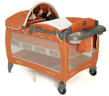 Манеж-кровать Graco Contour Electra Deluxe