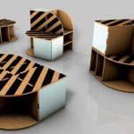 Мебель из картона фото