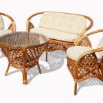 Мебель из лозы плетеная