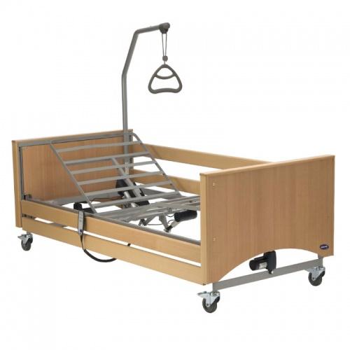 Медицинская кровать с электроприводом предназначена для облегчения состояния