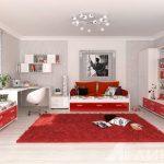 Модерн в детской комнате девочки подростка