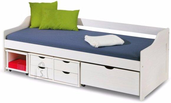 Односпальная детская кровать ХАЛМАР ФЛОРО с выдвижными ящиками