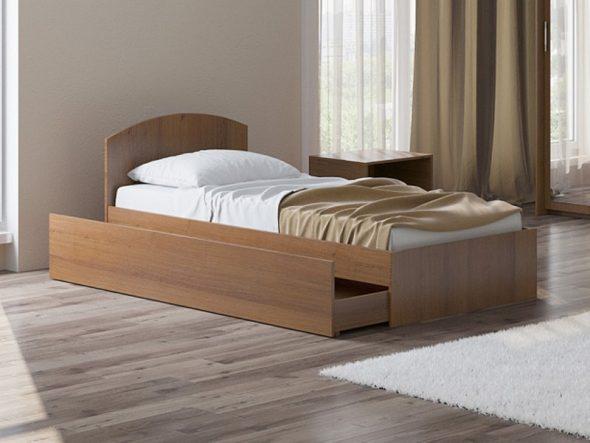 Односпальная кровать Этюд Плюс 90х200
