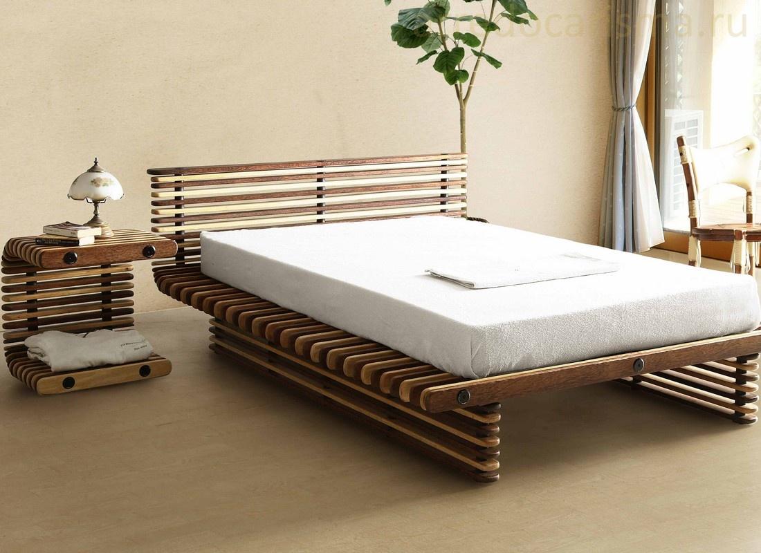 Кровать из дивана своими руками из дерева 44