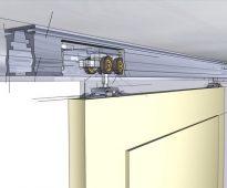 Основные типы раздвижных систем для шкафов купе