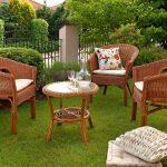Особенности мебели для дачи