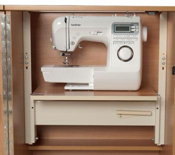 Отсек для швейной машины