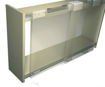 PS10 - система для раздвижных накладывающихся дверей (подвесная)