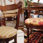 Перетяжка стульев своими руками-реставрация