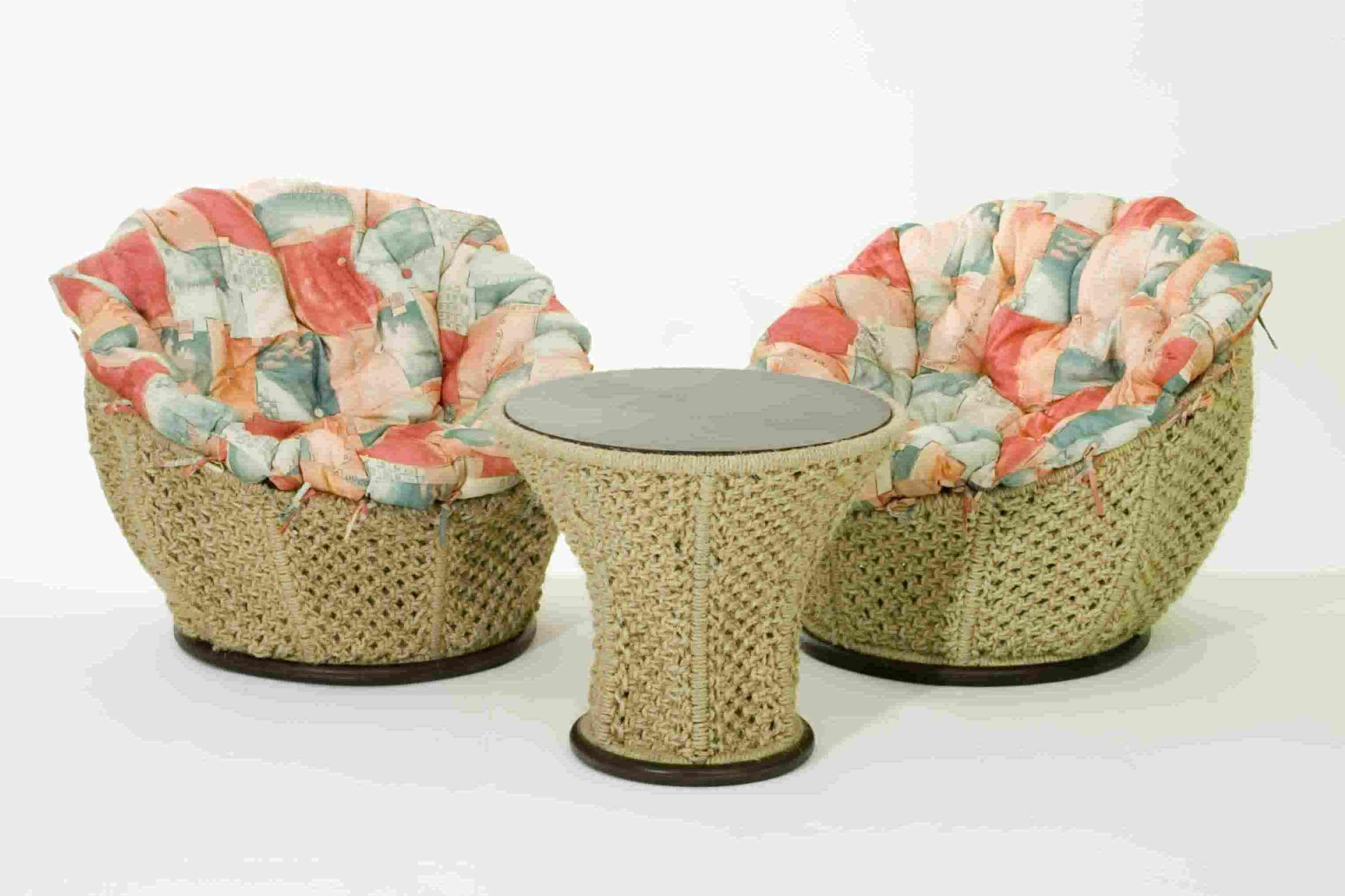Плетеная мебель для дачи своими руками 19