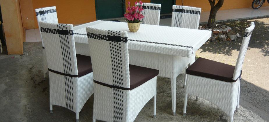 Делаем мебель из искусственного ротанга своими руками: инстр.