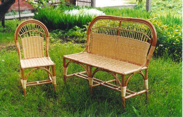 Плетеное кресло