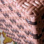 Пример плетения тумбы своими руками