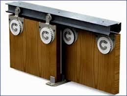 Пример подвесной системы раздвижных дверей для шкафов купе