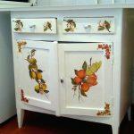 Реставрация старой мебели своими руками-интересный рисунок