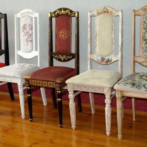 Реставрация стульев дома