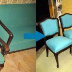 Реставрация стульев и ее результаты