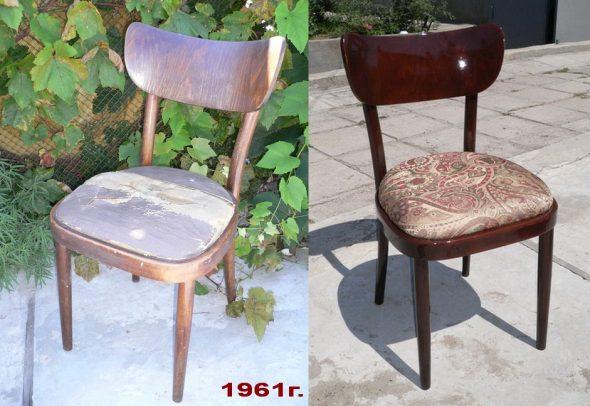 Реставрация стульев самому