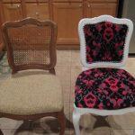 Реставрация стульев своими руками-до и после