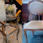 Реставрируем старый стул