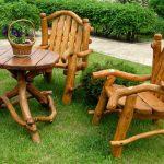 Садовая мебель своими руками-изображения