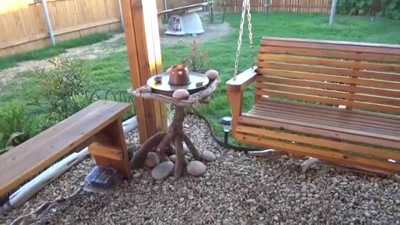 Сделать сам своими руками садовую мебель фото 277