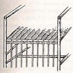 Схема плетнения сидения