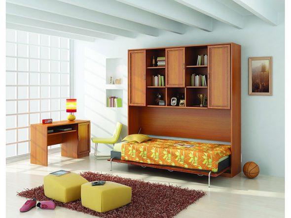 Шкаф кровать с подъемным механизмом