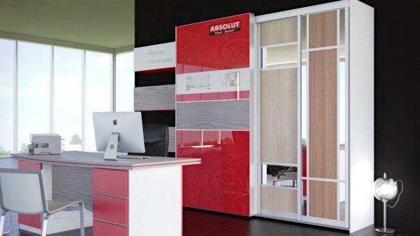 Современная подвесная система для шкафов-купе