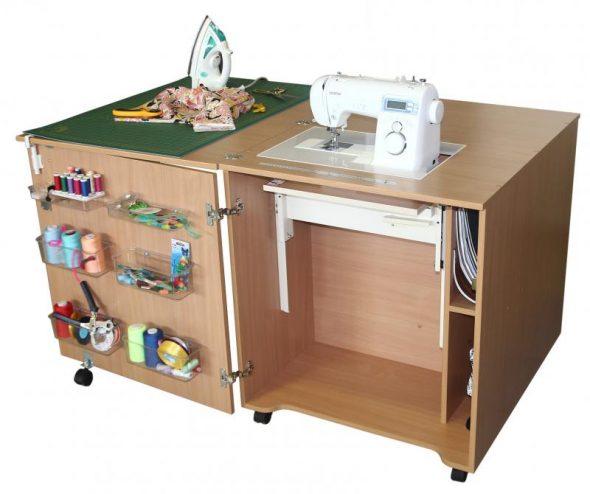 Стол для швейной машинки сделать своими руками