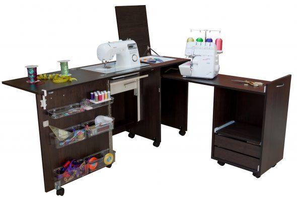 Стол для швейной машины и оверлока своими руками