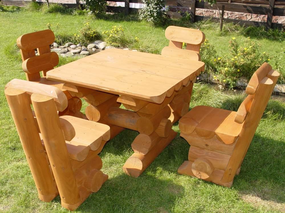 Садовые кресла и столы своими руками
