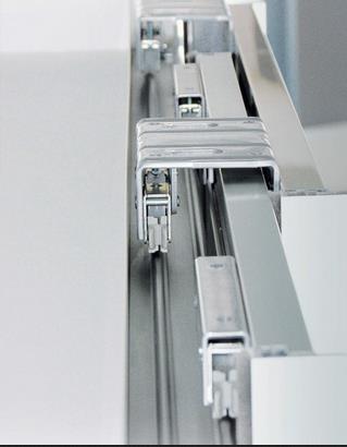 Верхние ролики алюминиевой подвесной системы